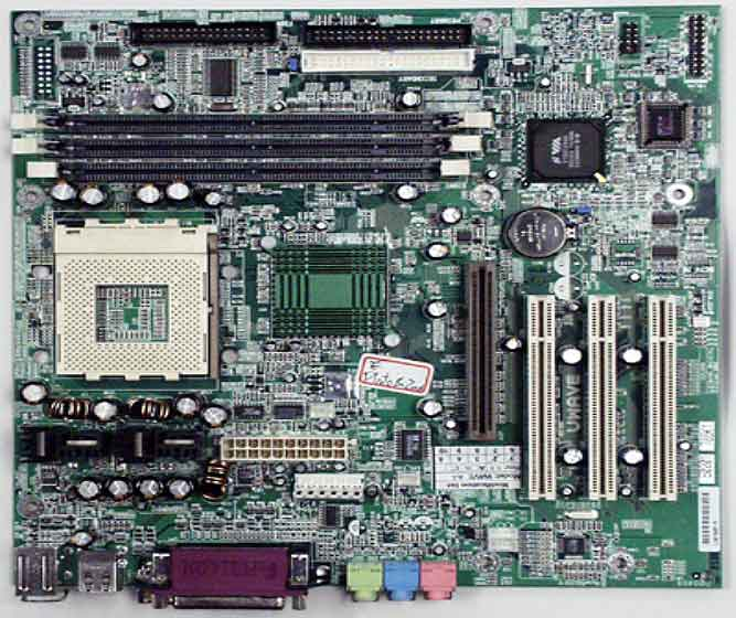 Uwave motherboard