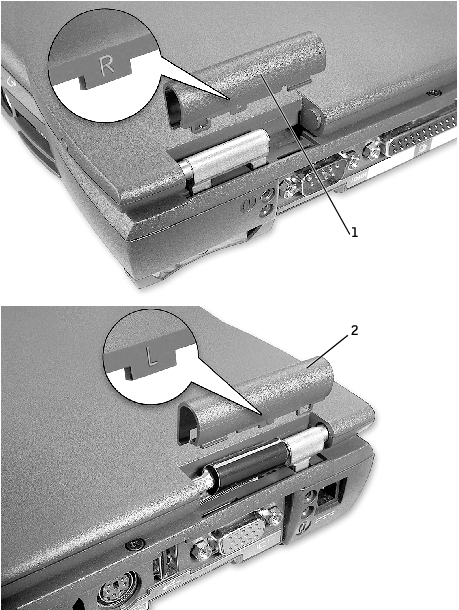 Display Assembly  Display Latch  And Hinge Covers  Dell