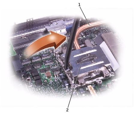 microprocessor thermal cooling assembly dell latitude c840 service rh elhvb com dell latitude c840 service manual dell latitude c840 service manual pdf