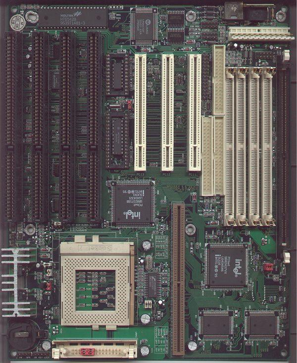 M520 V1 0 Pentium Motherboard